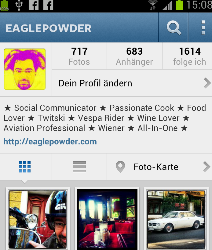 Eaglepowder Instagram