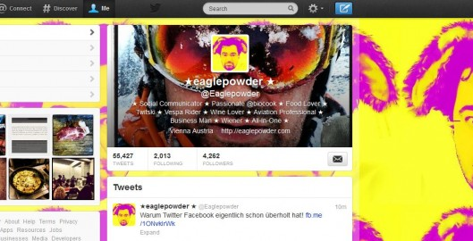 Twitter Profil Eaglepowder