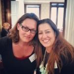 Ulli Cecerle-Uitz und Nina Mohimi am Foodcamp Vienna 2013